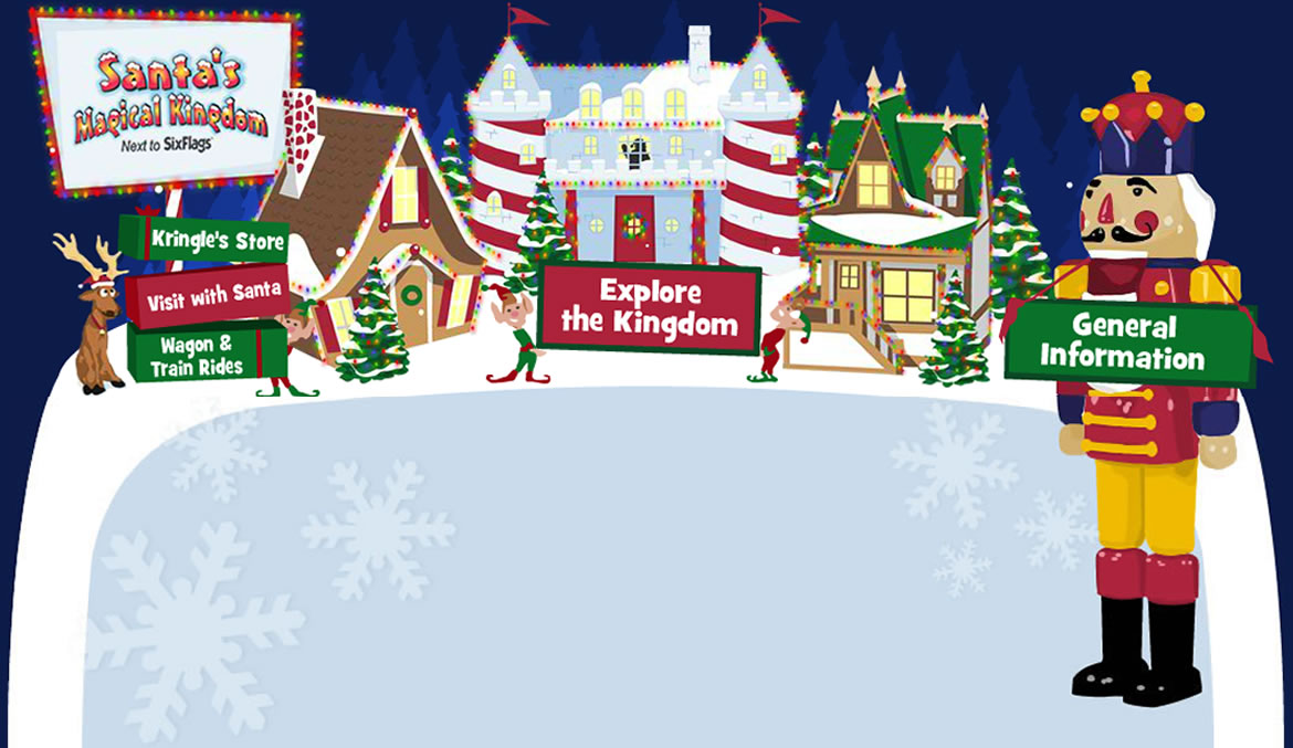 Visitor Information: Tickets, Hours, Directions | Santa's